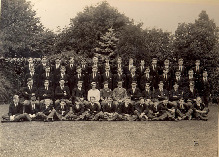 John Bradburne at Gresham's School